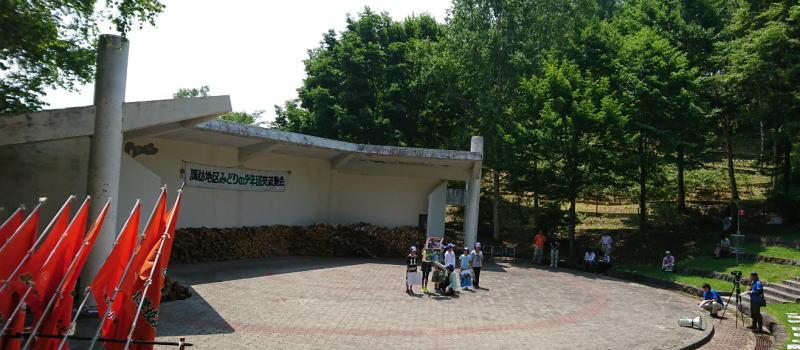 8月2日 諏訪地区みどりの少年団交流集会