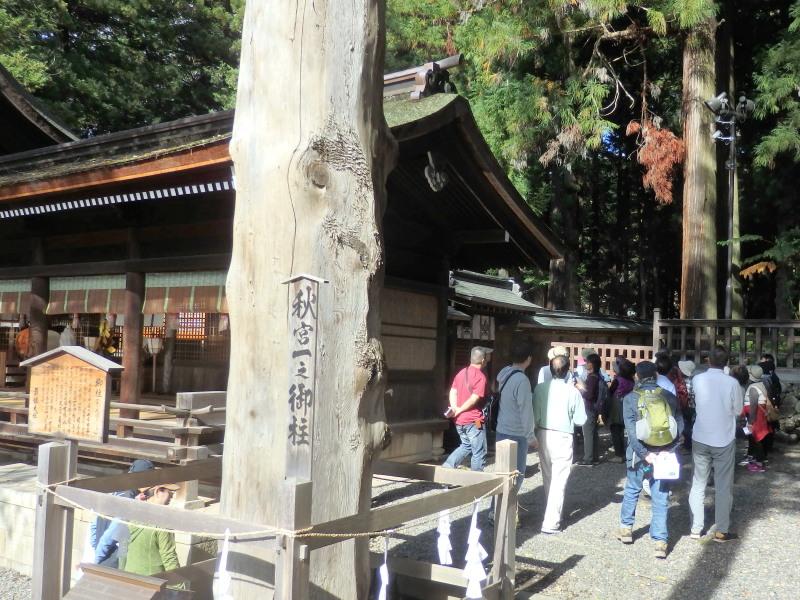 10月20日 森林文化見学会