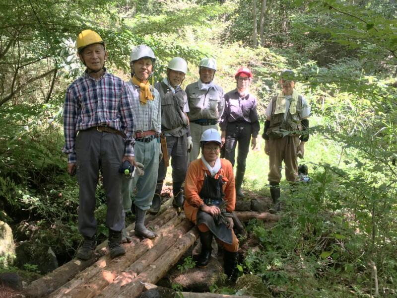 8月27日 市民の森散策路整備