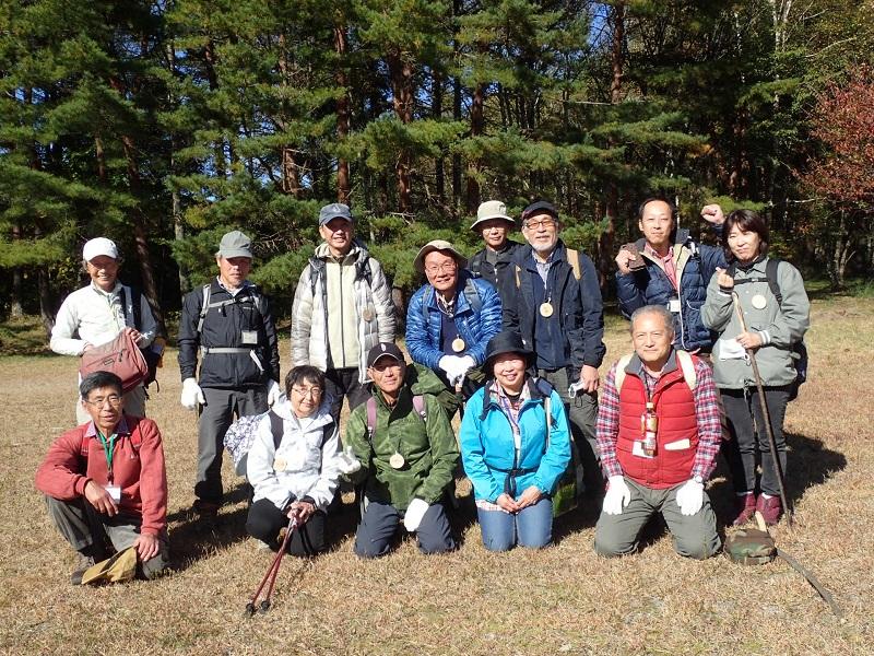 10月25日 市民の森ウォーキング会